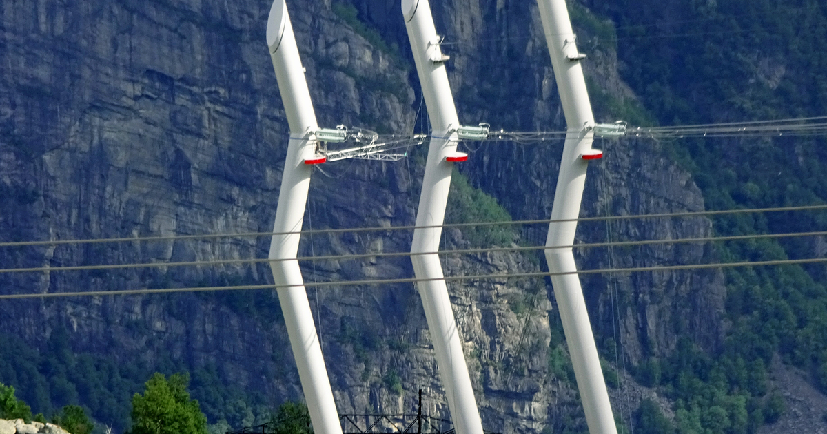 Design Transmission Line Towers In Norway News Efla Engineers Com