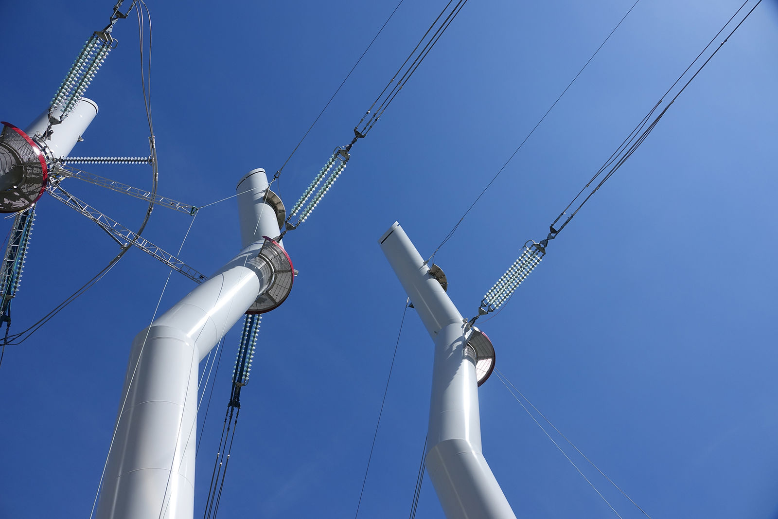 Aesthetic High Voltage Towers Projects Efla Engineers Com